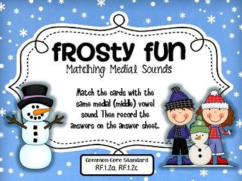 Frosty Fun {Medial Sound Matching}