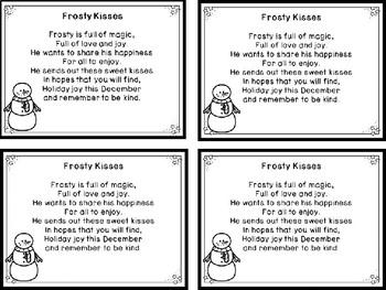 Frosty Kisses FREEBIE