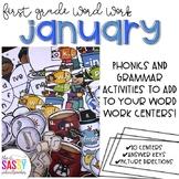 First Grade Word Work January