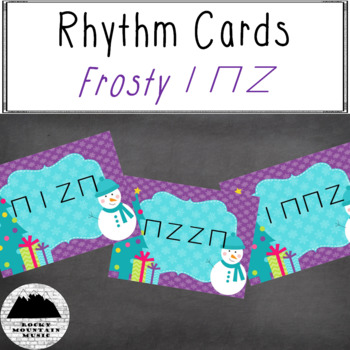 Frosty Rhythm Cards