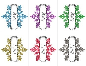 Frosty Sight Word Races: A Frozen -inspired relay game for Pre-Primer