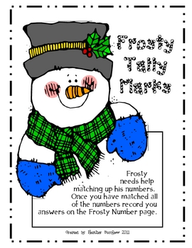 Frosty Tally Marks