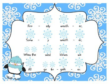 Frosty Weather: A song for teaching ta titi and re