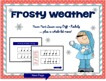 Frosty Weather Power Point Lesson