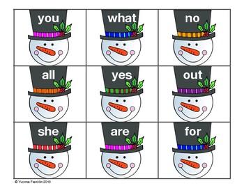 Frosty Word Match