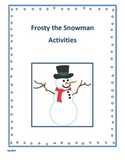 Frosty the Snowman Activities