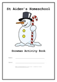 Frosty the Snowman Activity Packet