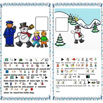 Frosty the Snowman:Circle Time Song differentiated