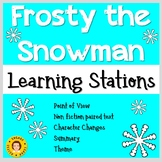 Frosty the Snowman Learning Stations - Christmas/Holiday ELA Centers