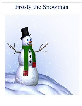 Frosty the Snowman Narrative Writing
