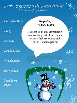 Frosty the Snowman Webquest