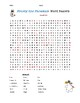 Frosty the Snowman Word Search (w/ Answer Key)