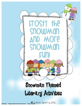 Frosty the Snowman and More Literacy Activities