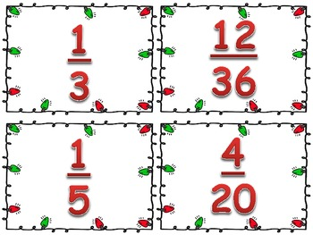 Frosty's Fractions: An Equivalent Fraction Game