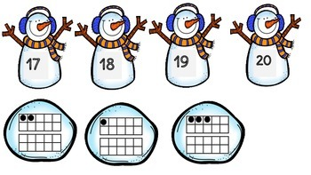 Frosty's Math Centers