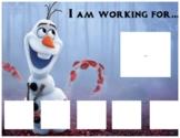 Frozen 2 Themed Token Board Systems