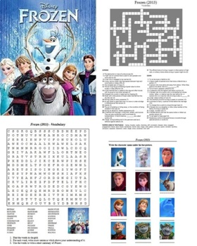Frozen (2013) - Puzzle and Activities Bundle