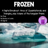 Frozen: A Digital Escape Breakout Area of Quadrilaterals & Triangles & Volume