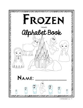 Frozen ABC printing 2 lines