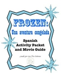 Frozen Activity Packet and Movie Guide in Spanish/ Una aventura congelada