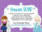 Frozen BUMP Math Game {Addition, Subtraction, & Multiplication}