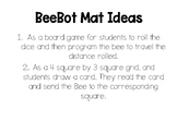 Frozen Bee Bot Mat with Simple Sentence Cards