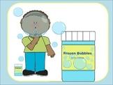 Frozen Bubbles Science Experiment