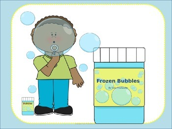 Frozen Bubbles Science Experiment