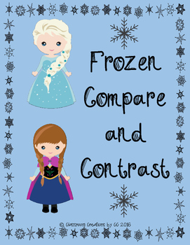 Frozen Compare and Contrast Writing Unit