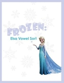 Frozen: Elsa vowel word sort