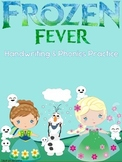 Frozen Fever Handwriting and Phonics Practice