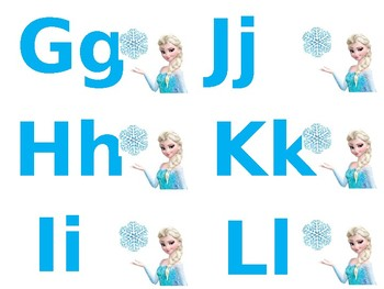 Frozen Flashcards