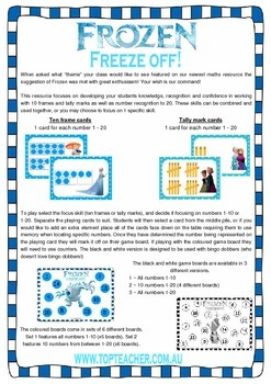 Frozen Freeze off!