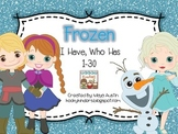 Frozen I Have, Who Has 1-30