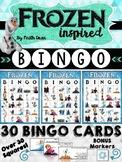 Frozen Inspired Bingo