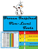 Frozen Inspired Five-Level Behavior Chart and Tools