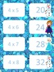Frozen Inspired Multiplication facts (4 - 7)  Concentration & War Card Games