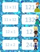 Frozen Inspired Multiplication facts (8 - 12)  Concentration & War Card Games
