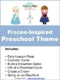 Frozen Inspired Preschool Theme