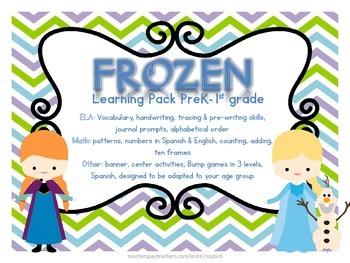 Frozen Inspired PRINTABLES