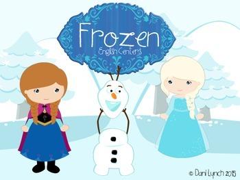 Frozen Literacy Centers