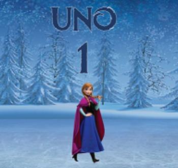Frozen Los Numeros