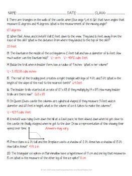 Christmas Math Movie Questions to accompany Frozen