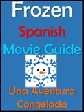 Frozen Movie Packet in Spanish / Una Aventura Congelada