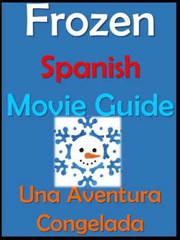 Frozen Movie Packet in Spanish / Una Aventura Congelada