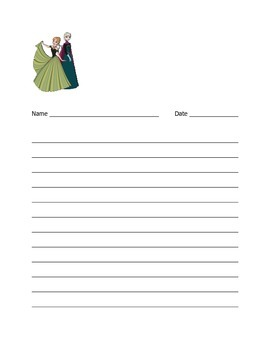 Frozen Notebook Paper