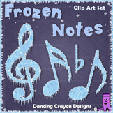 Music Notes - Frozen Clipart