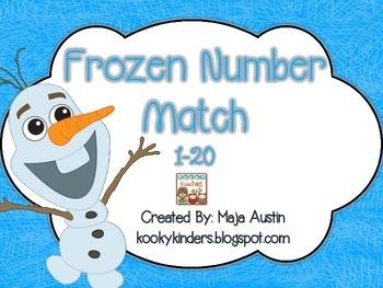Frozen Number Match