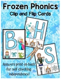 Frozen: Phonics Self-Correcting Clip Cards