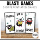 Winter Games Phonics and Sight Words